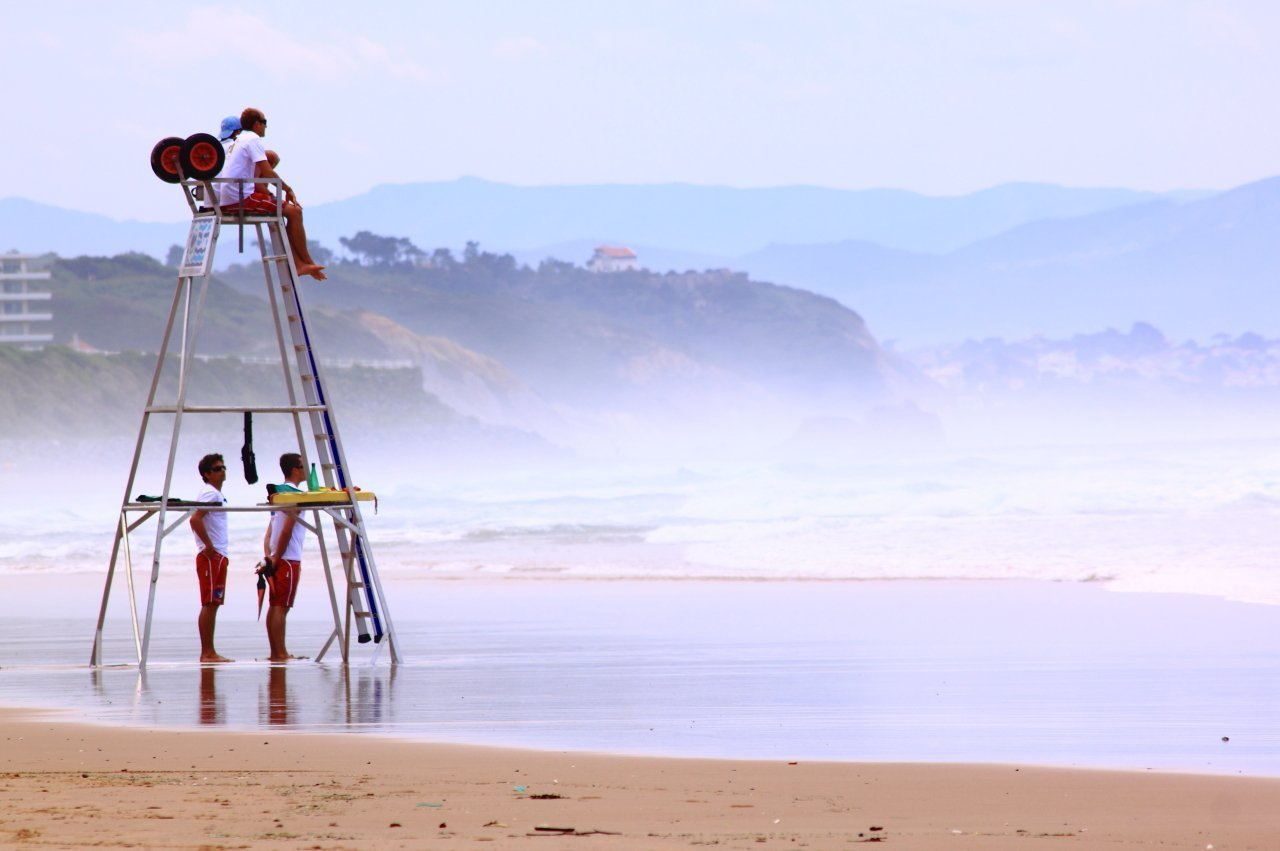 Biarritz lifeguards