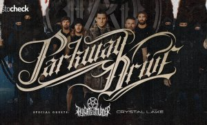 Parkway Drive, Thy Art Is Murder a Crystal Lake v Bratislave